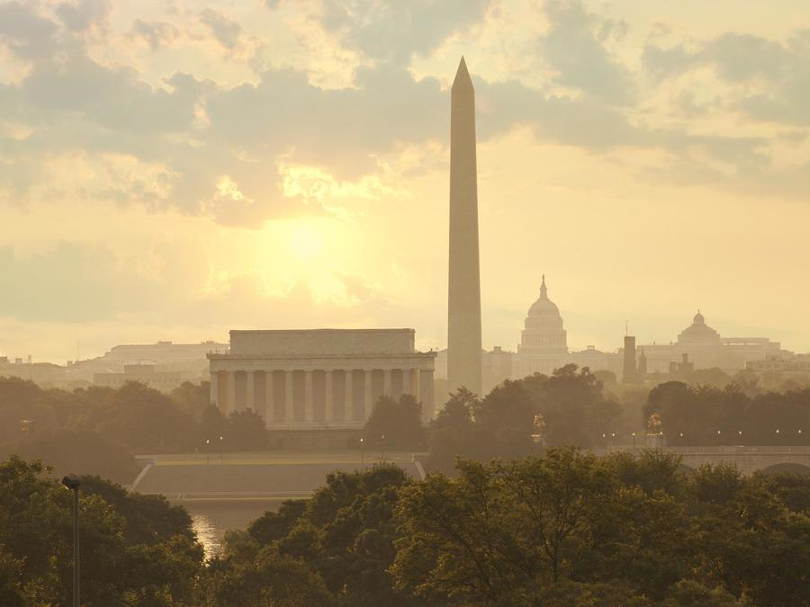 Amanecer en Washington