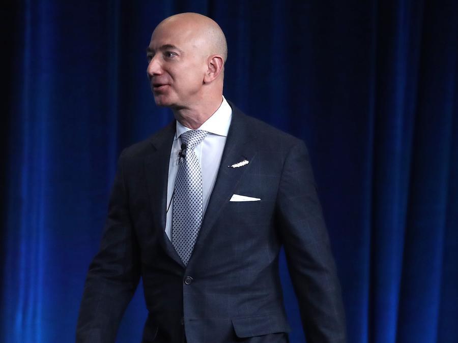 Jeff Bezos, fundador y CEO de Amazon
