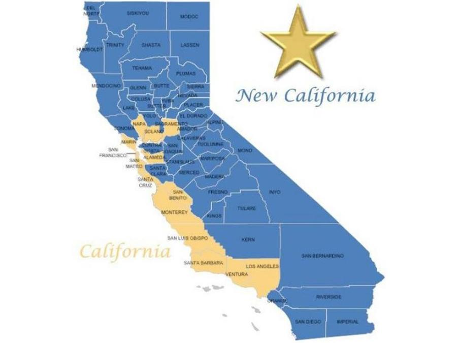 Mapa de New California