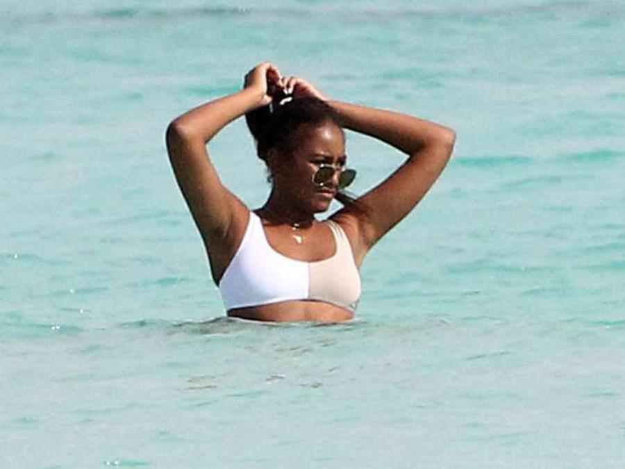La hija menor de Barack Obama gozó de unas envidiables vacaciones