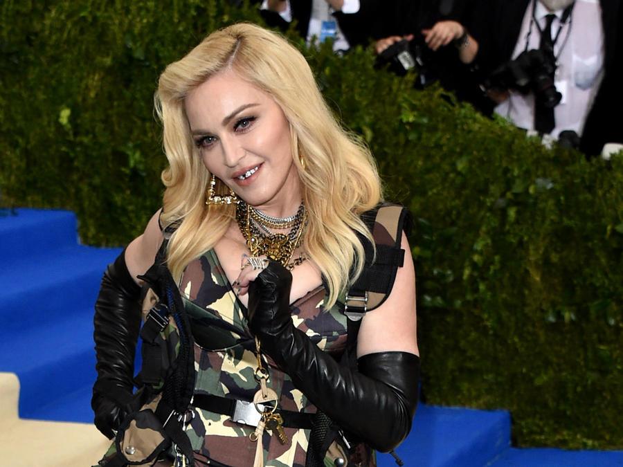 Madonna en la Met Gala 2017