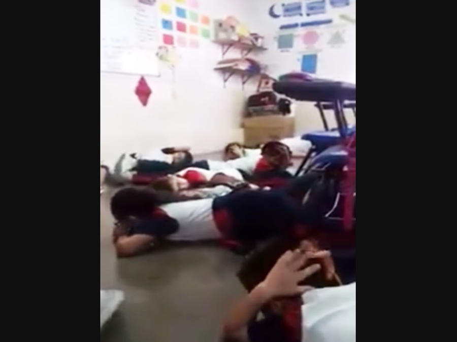 Niños en medio de balacera en México (VIDEO)