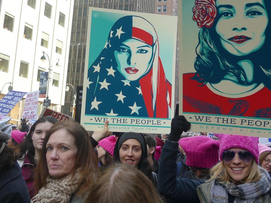 Women's March, 21 de enero 2017, Nueva York