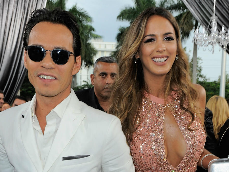 Marc Anthony y Shannon de Lima