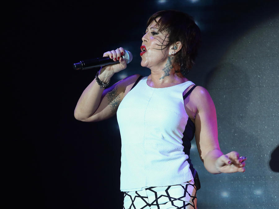 "Alejandra Guzman Launches Her New Album ""A + No Poder"" - Showcase"