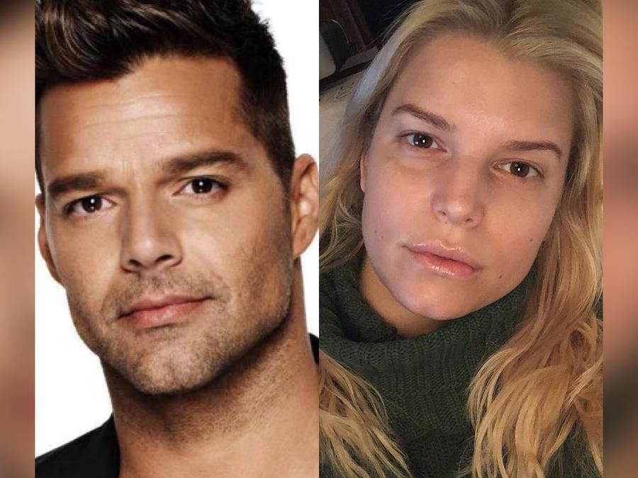 Ricky Martin, Jessica Simpson