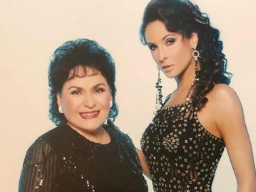 Carmen Salinas y Lorena Rojas