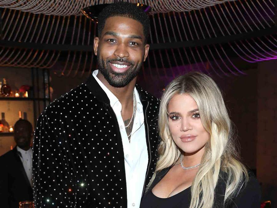 Khloé Kardashian and Tristan