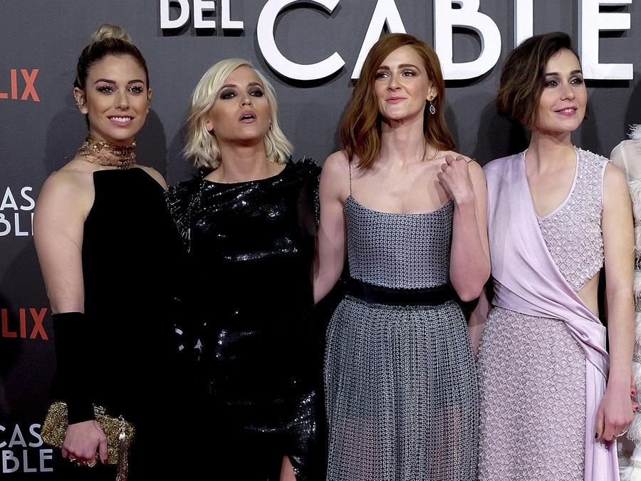 """Elenco de """"Las Chicas del Cable"""""""