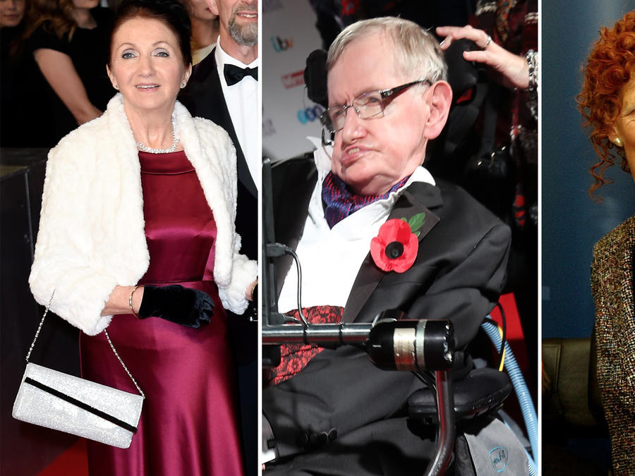 Jane Wilde, Stephen Hawking, Elaine Mason