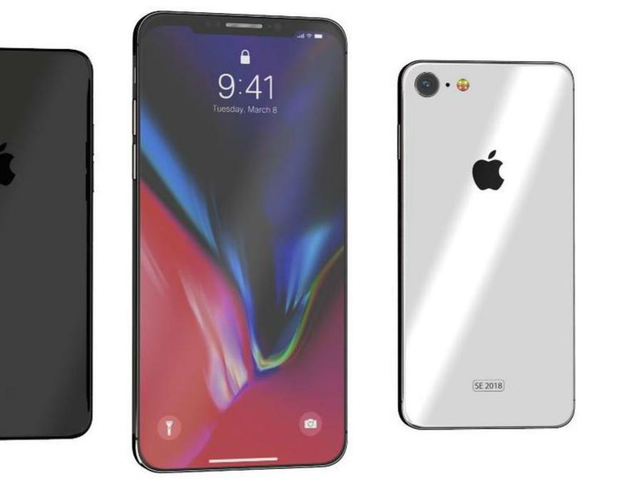 Diseño del iPhone X SE