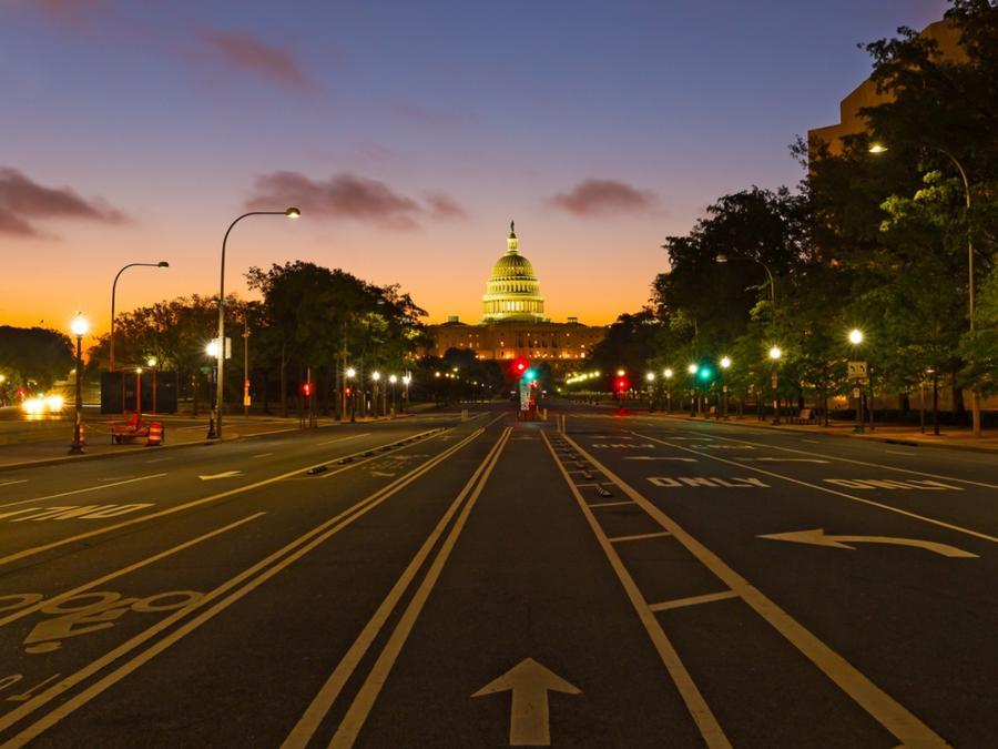 Calle de Washington D.C.