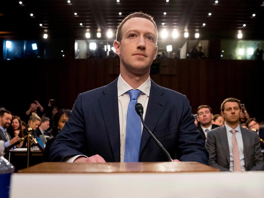 Mark Zuckerberg testifica en el Senado el martes 10 de abril de 2018