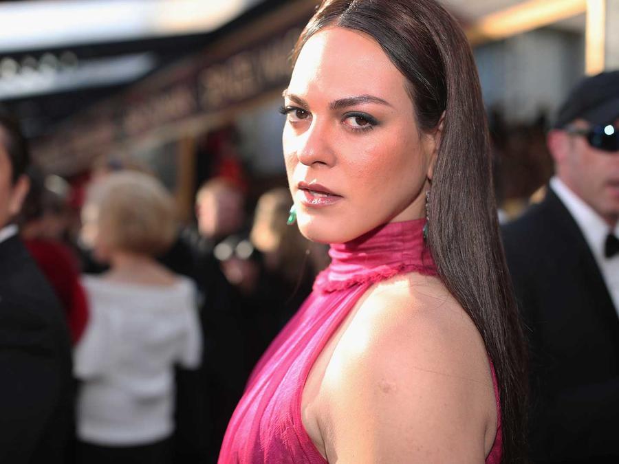 Actriz chilena Daniela Vega, en los Premios Oscar