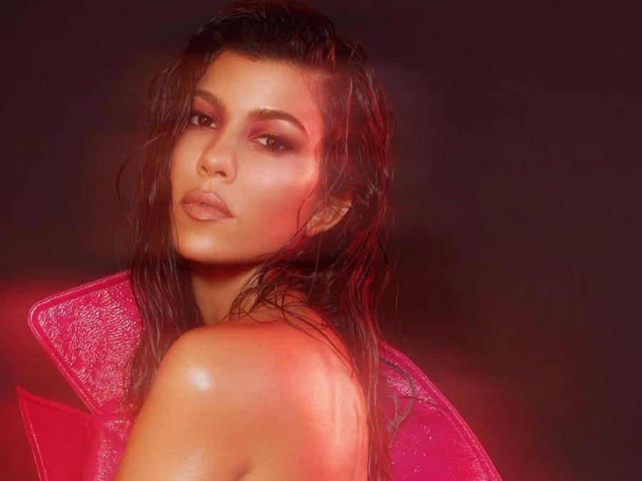 Kourtney Kardashian Sizzles in Nude Shoot