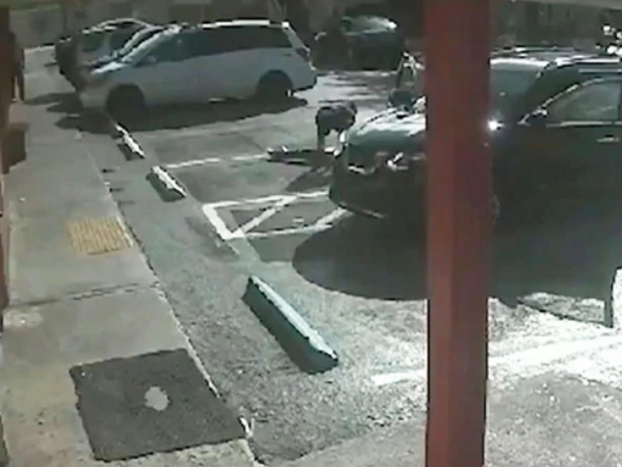 Asesinato en estacionamiento