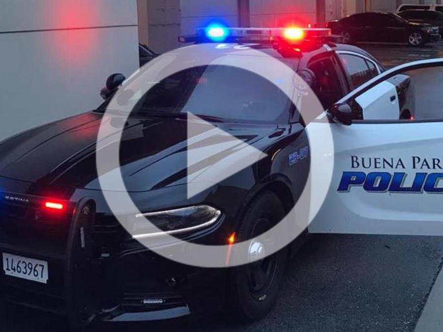 Carro de policía de Buena Park, en una imagen de archivo.