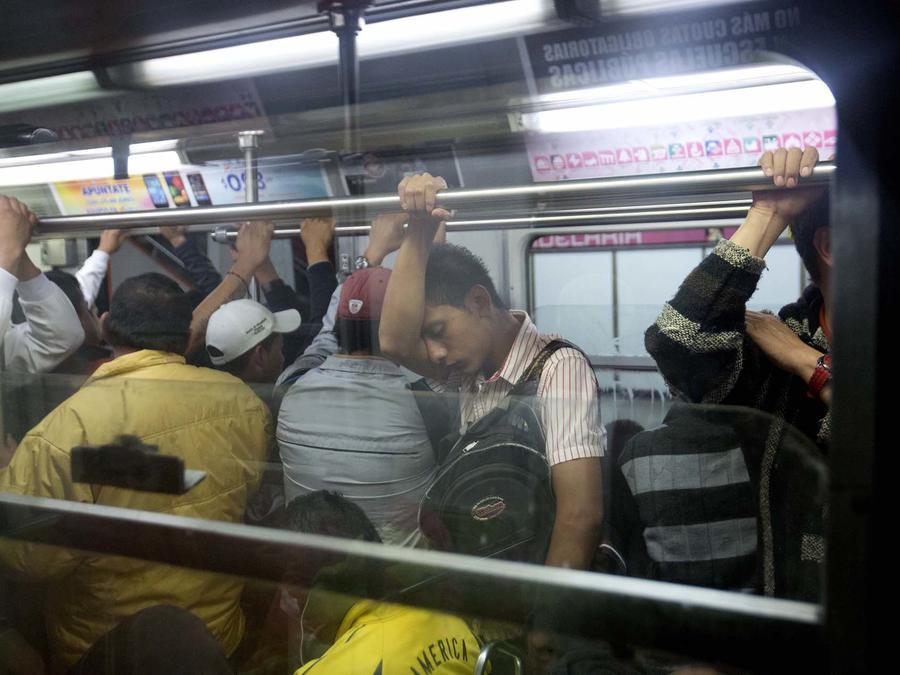 Imagen de archivo del metro de la Ciudad de México.