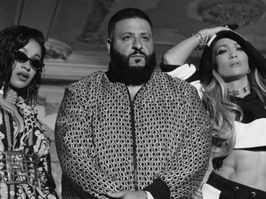 Cardi B, DJ Khaled, Jennifer Lopez