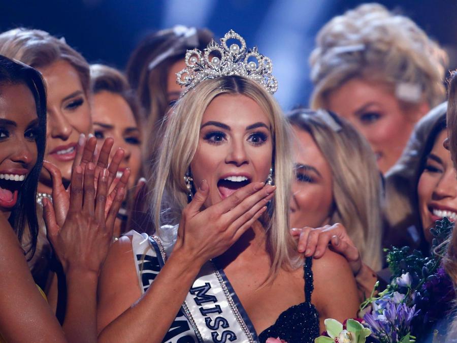 Sarah Rose Summer en Miss USA