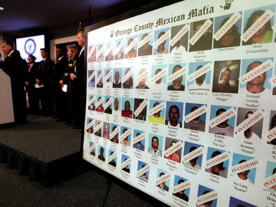 """Miembros de la """"Mafia Mexicana"""" en una foto divulgada por las autoridades. Imagen de archivo"""