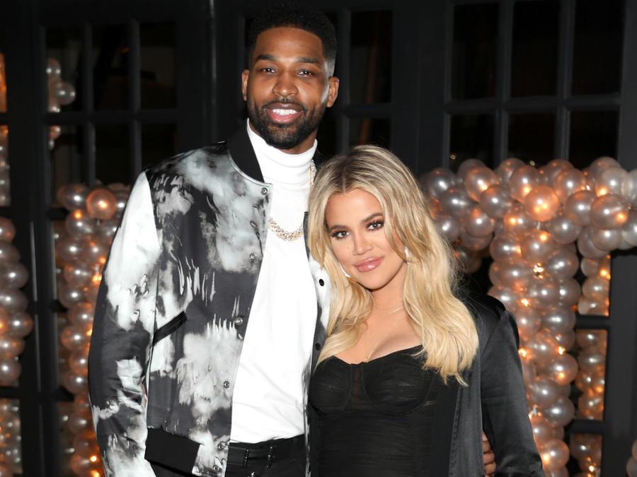 Khloe Kardashian con Tristan Thompson