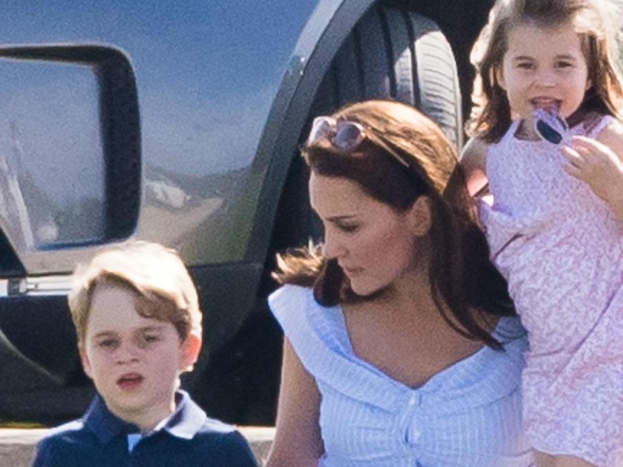 Kate Middleton, príncipe George, princesa Charlotte