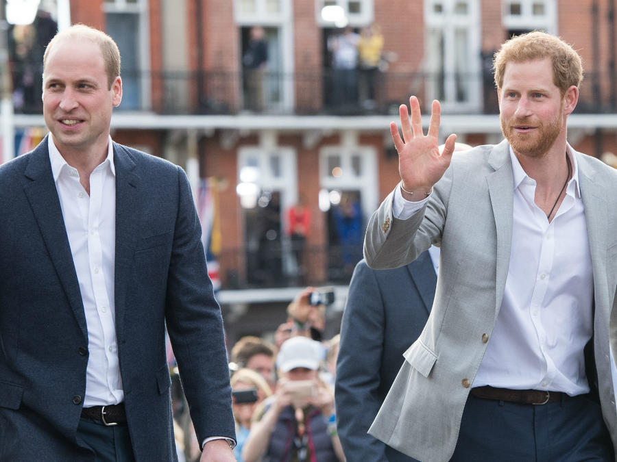 Príncipe Harry y el príncipe William