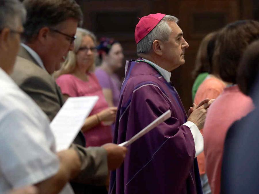 Ronald Gainer de la archidiócesis de Harrisburg en Pensilvania quien está citado en el informe sobre abusos de sacerdotes a menores