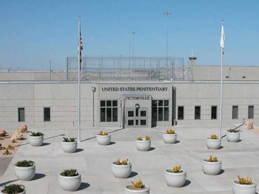 La prisión federal de Victorville, al noreste de Los Ángeles, alberga a más de 1,000 inmigrantes indocumentados