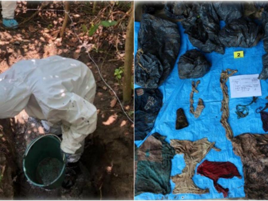 Fosas clandestinas halladas en Veracruz