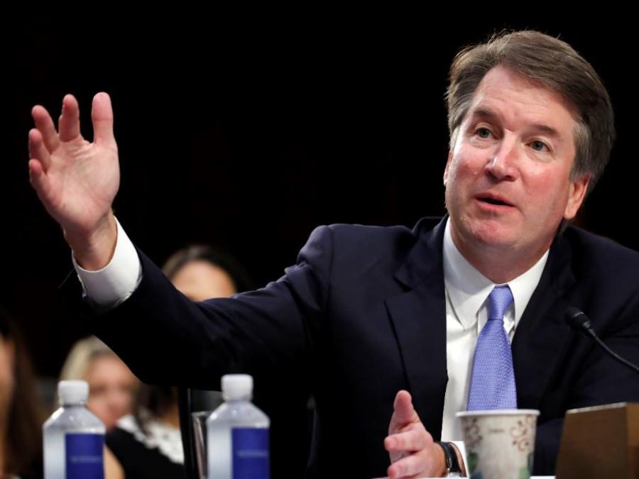 El candidato a la Corte Suprema del presidente Donald Trump, Brett Kavanaugh, en una foto de archivo.