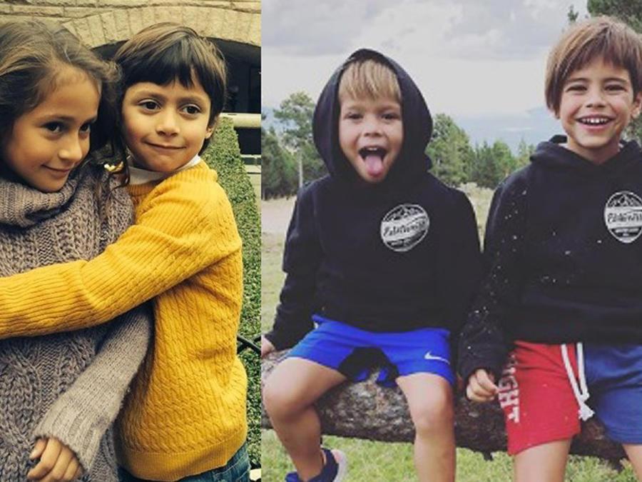 Collage hijos de famosos