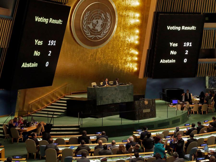 Consejo General de la ONU votó hoy sobre embargo a Cuba