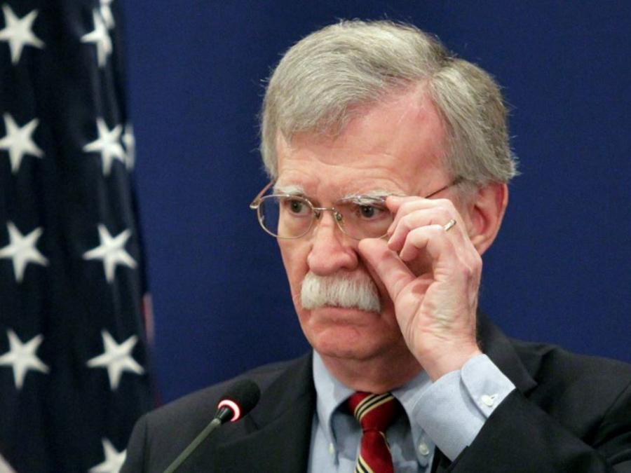 El asesor de seguridad nacional de Estados Unidos, John Bolton, en una foto de archivo.