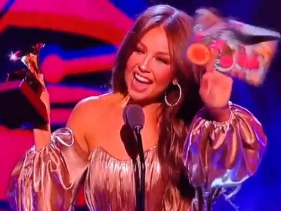 Thalía en los Latin Grammys 2018