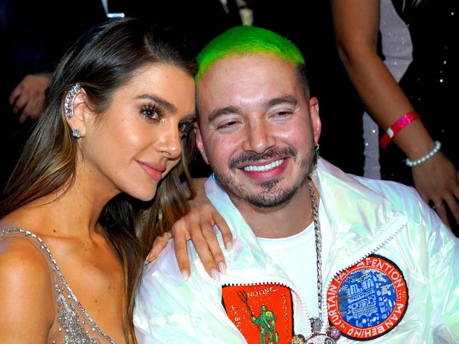 Valentina Ferrer con J Balvin