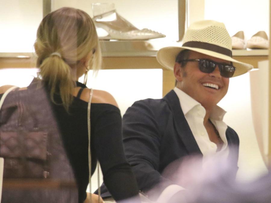 Luis Miguel con Mollie Gould
