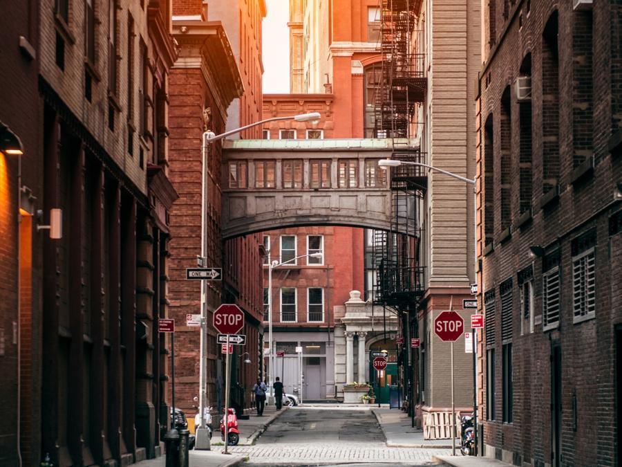 Atardecer en TriBeCa, Nueva York