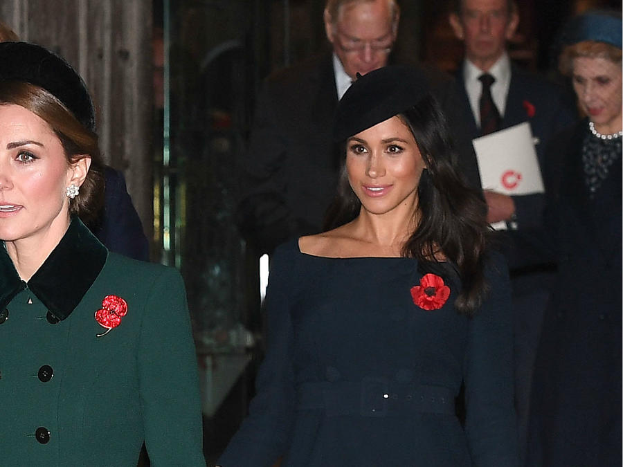 Tensión entre Meghan Markle y Kate Middleton