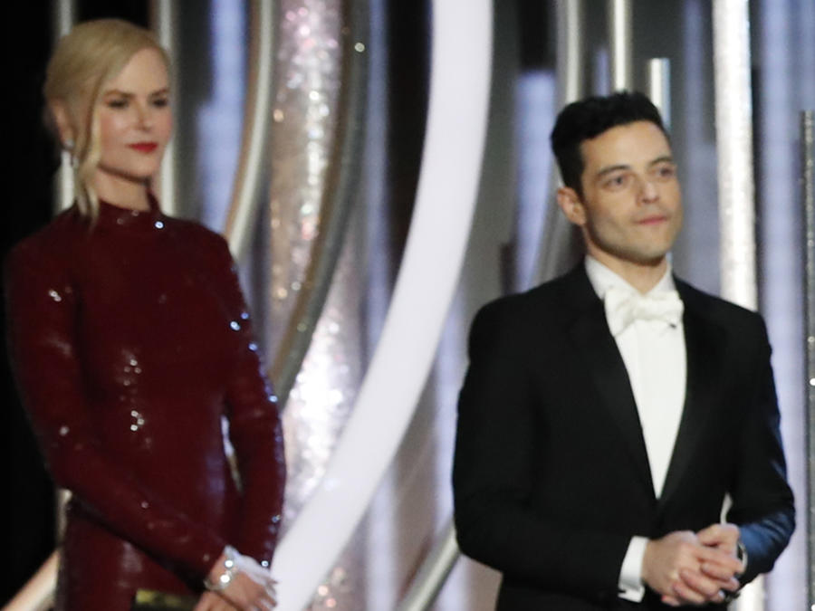 Nicole Kidman and Rami Malek