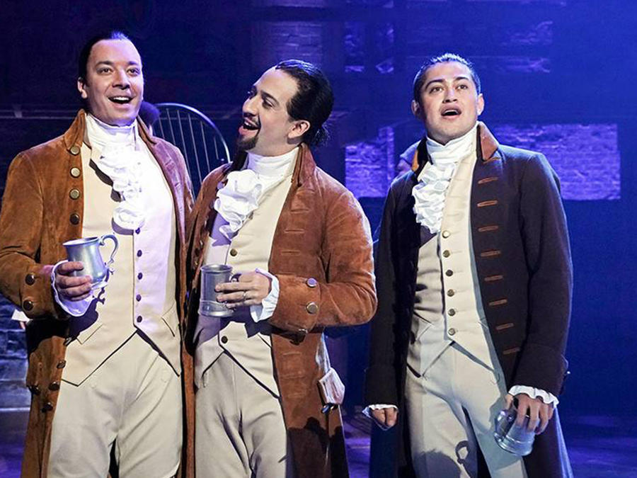 Jimmy Fallon Goes Full Hamilton and Sings With Lin-Manuel Miranda