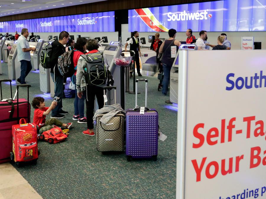 Aeropuerto de Orlando en una imagen de archivo