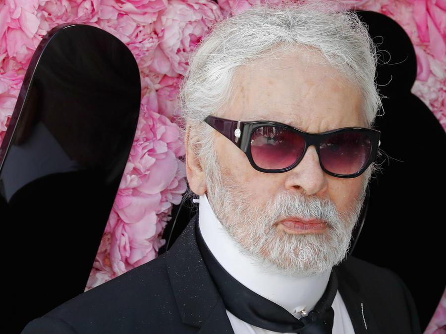 Karl Lagerfeld, junio de 2018