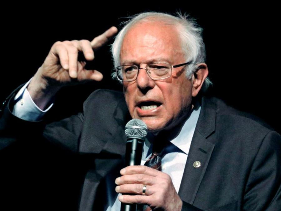Bernie Sanders en una foto de archivo.