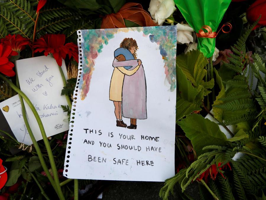 Dibujo con reconciliación en Nueva Zelanda
