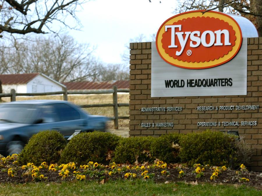 Sede principal de la empresa Tyson Foods en una imagen de archivo