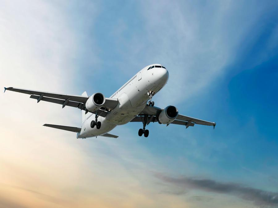 Un hombre viajó solo en un avión desde la capital lituana de Vilna a la ciudad italiana de Bergamo.