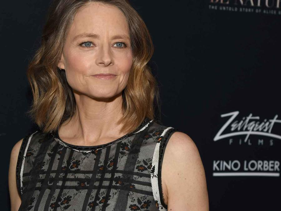 "Jodie Foster en la premiere de ""Be Natural: The Untold Story of Alice Guy-Blache"""
