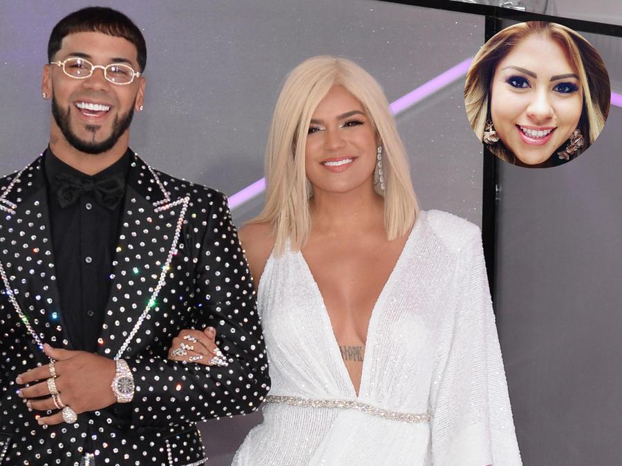 Anuel AA y Karol G en los Billboard 2019